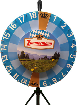 Wheel of fortune double small - Zimmermann